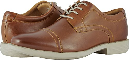 Nunn Bush Mens Dixon Oxford Cognac Multi