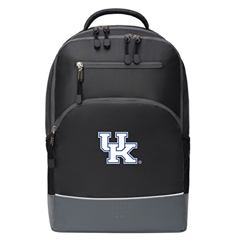 The Northwest Company Officially Licensed NCAA Kentucky Wildcats Alliance Backpack, Black (Laptop Ncaa Kentucky Wildcats Bag)