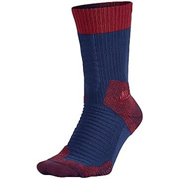 84a5563a7f43 Nike Hyper Elite Chase Basketball Crew Socks Black Lava SX4923-068 ...