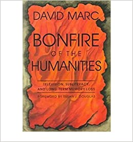 bonfire of the humanities essays on television subliteracy and   bonfire of the humanities essays on television subliteracy and long term memory loss author david marc published on 1998 com books