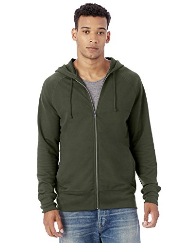 ntage Sport French Terry Franchise Hoodie, Utility Green, L (Franchise Green)
