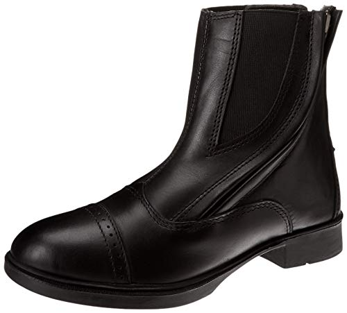 Daisy Clipper Children's Leather Paddock Boots, Black, - Childrens Boot Paddock