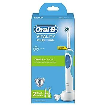 Oral-B Vitality Plus Cross Action Cepillo Eléctrico para ...