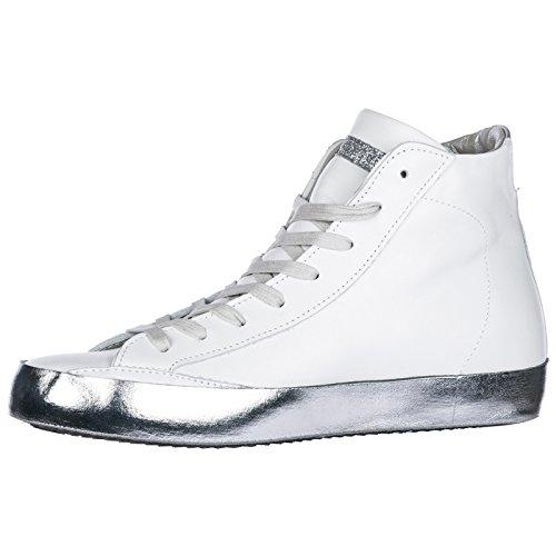 Weiß Paris Damenschuhe H Leder Model Sneakers Damen Philippe Schuhe High FATwzB0wqg
