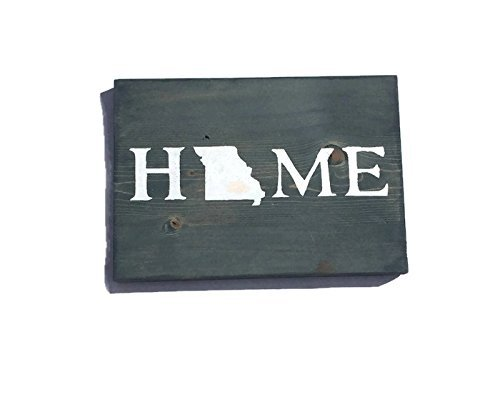 Missouri State Home Signs - Custom Colors - You Pick - Stores Missoula In