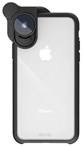 buy popular 5f2bb 63fdc Olloclip - Slim Case for iPhone XS, Compatible with HD Camera Lenses and  Objectives for Smartphone, Bumper with Reinforced, Shockproof & Drop ...