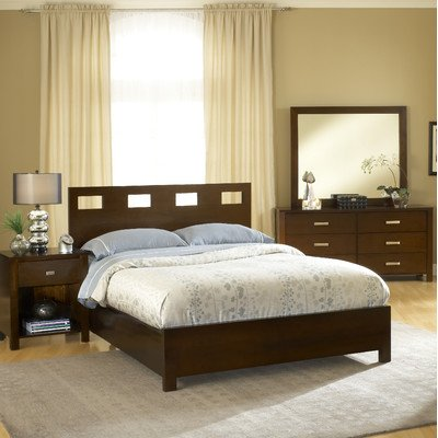 California Furniture Bed Modus King (Modus Furniture Riva Platform Bed, Chocolate Brown, California King)