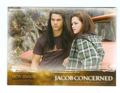 Kristen Stewart Bella Taylor Lautner Jacob trading card Twilight New Moon 2009 Summit #47