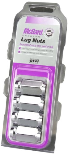 McGard 64069 Chrome Cone Seat Lug Nut Set, (Set of 4) (2011 Jeep Grand Cherokee Rims For Sale)