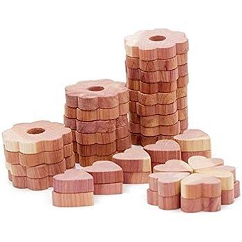 Amazon Com Venxic Cedar Wood Blocks For Closets And
