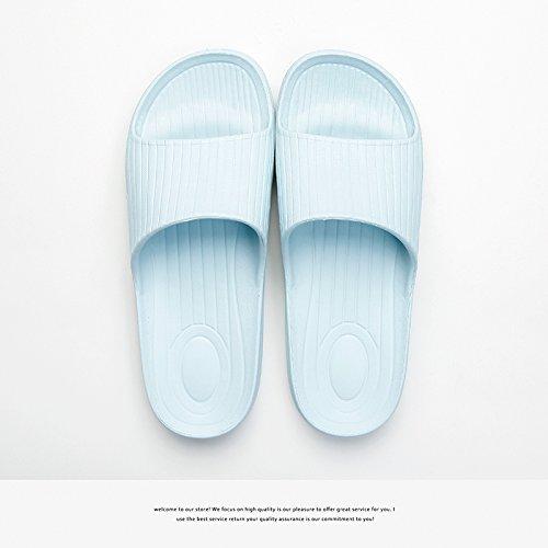 antiscivolo estate 35 Azzurro plastica e nbsp;Home home donne da uomini in ciabatte Fankou da bagno soft ciabatte bagno indoor 36 coppie 7qU40