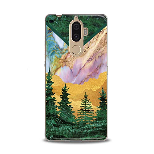 Lex Altern TPU Case for Lenovo Phone K8 Note K6 Note 2017 K5 Plus Z5 Idea Modern Marble Lady Soft Slim fit Desert Clear Lightweight Cover Girl Beautiful Smooth Print -