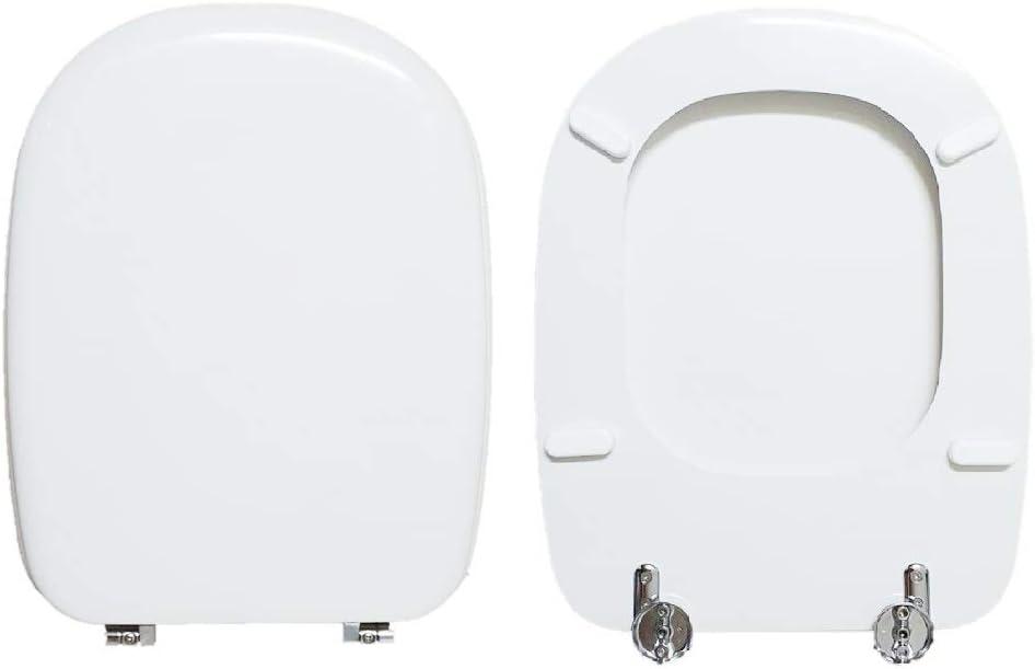 Abattant WC MIMO LAUFEN compatible laqu/é blanc brillant polyester