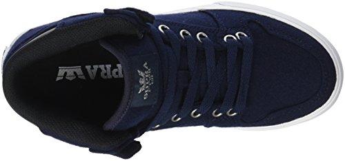 Supra Vaider LC Sneaker Marine Wolle / Silber / Weiß