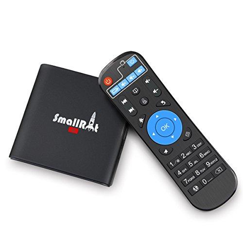 SmallRocket X1 Mini PC Rockchip Quad Core 1GB 8GB with 2.4G WiFi HDMI Bluetooth 60FPS 4K Player