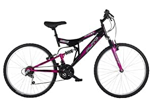 """Flite Taser II -  Bicicleta de montaña de doble suspension (rueda 26"""",cuadro 18""""), para mujeres"""