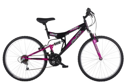 Flite Taser II Womens' Mountain Bike Black/Cerise, 18' inch steel frame, 18...