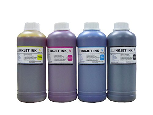 ND Brand 4x500ml refill ink for Epson 502 T502 Expression ET-2700 ET-2750 ET-3700 WorkForce ET-3750 ET-4750 EcoTank printer -  4x500mlEcotankT502