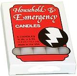 Emergency Candles Slow Burning Case of 60