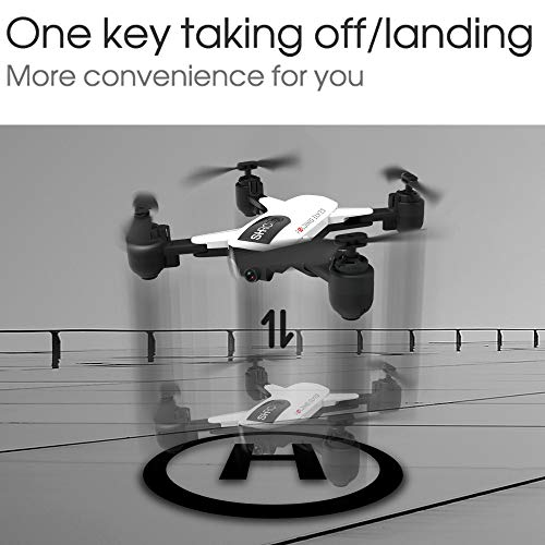 LikeroDrone x pro 5G Selfi WiFi FPV GPS,with 1080P HD Camera,Foldable RC Quadcopter,Beginners-Controlled Through The Mobile Phone App-One-Key Start&one-Key Landing (White) by Likero (Image #6)