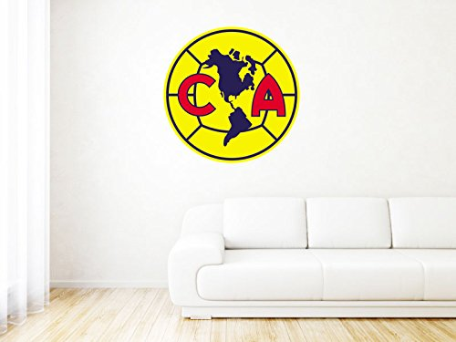 Club America Mexico - Mexico - High Quality Wall Graphic Decal - - Wall America Of