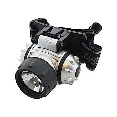 Am-Tech Lampe frontale LED/Krypton
