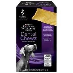 Purina Veterinary Diets Dental Chews Canine Treats 5 oz Box, Case of 6