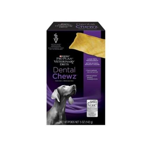 Purina Veterinary Diets Dental Chews Canine Treats 5 oz Box, Case of 6 For Sale