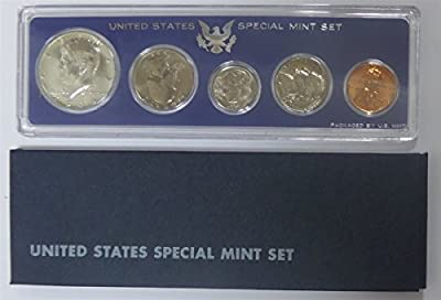 1966 P 1966 U.S. Mint - 5 Coin Uncirculated Set with Original Governmetn Packaging Uncirculated