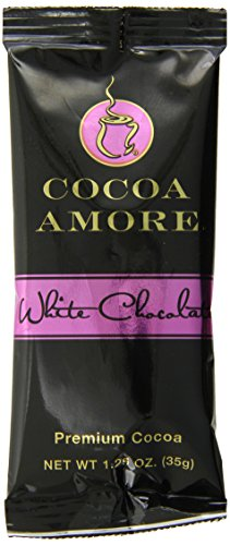 - Cocoa Amore White Chocolate Single Serve Packets, 1.25-Ounce (Pack of 48)