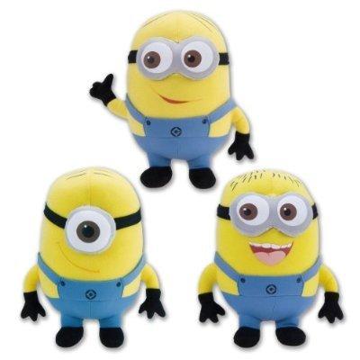 Despicable Me The Movie Minions 10 Inch Plush Doll Toy Set Dave Jorge Stewart Stuart Children, Kids, Game