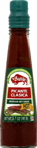 Bufalo Salsa Picante Clasica Mexican Hot Sauce, 5.4 Ounce (Pack of 24)