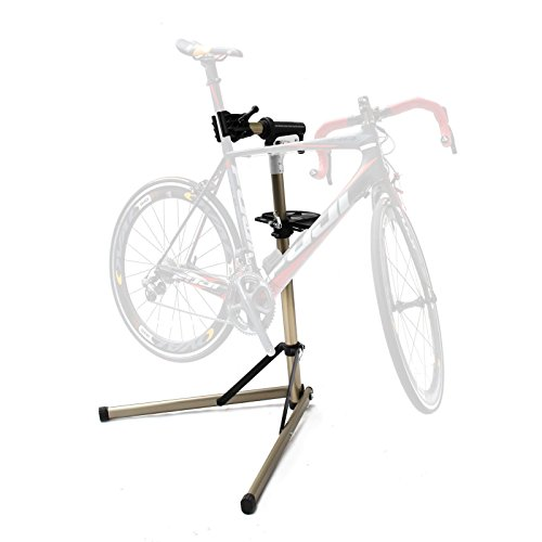 Aluminum Bicycle Rack - Aluminum Cycle Pro Mechanic Bicycle Repair Stand Rack Bike