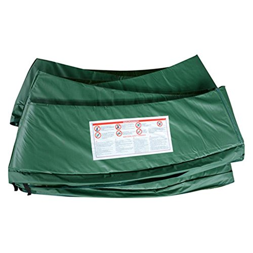 14' Trampoline Replacement Safety Pad / Spring Cover - Green by Aosom