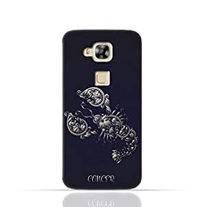 Huawei G8 TPU Silicone Case With Zodiac Sign Cancer Design
