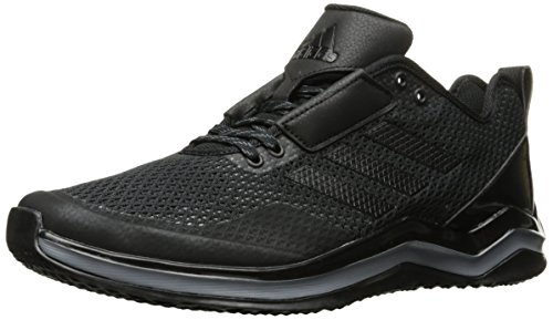 Adidas Men's Speed 3.0 Cross Trainer Q16553, Black/Black/Iron Metallic, 11 M US