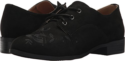 Esprit Women's Clara Lace-Up Floral Embroidered Oxford Flat,7.5 B(M) (Floral Oxfords)