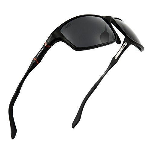 SOXICK Sunglasses Polarized Sport Sunglasses Summer Fashion Metal Frame HD Sunglass