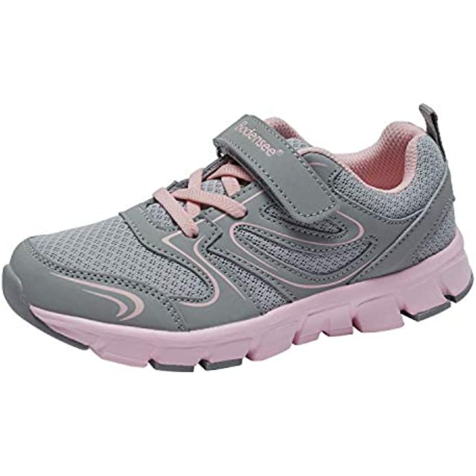 BODENSEE Toddler Little Kid Boys Girls Sneakers Lightweight Breathable Running Shoes