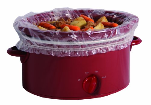 PanSaver Slow Cooker Liners with a Sure Fit Band - fits 3 qt to 6.5 qt