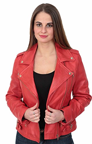 Femmes Trendy Veste Style Motard De Filles De Ajust Cuir v1wBxvrZq