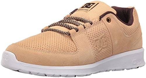 DC Men's Lynx Lite Skateboarding Shoe, Tan, 11 M US