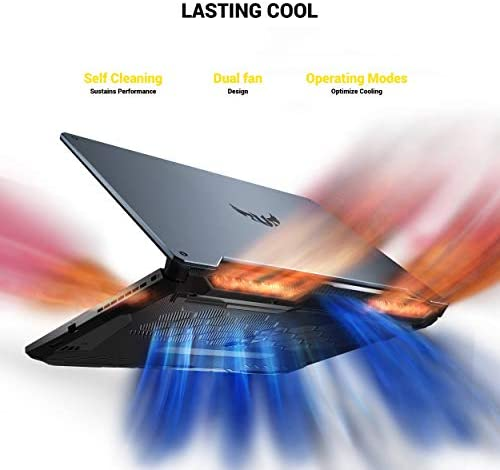 ASUS TUF VR Ready Gaming Laptop, 15.6″ IPS FHD, AMD Ryzen 7-4800H Octa-Core up to 4.20 GHz, NVIDIA RTX 2060, 16GB RAM, 512GB SSD+1TB HDD, RGB Backlit KB, RJ-45 Ethernet, Win 10 41gF9puEH7L