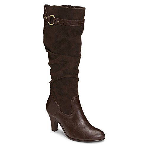 Aerosoles Paperweight Tall Boots - Brown 5.5 M, Brown