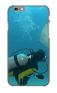 Freshmilk Hot Tpye Hd Underwater Background Case Cover For Iphone 6 For Christmas Day's Gifts