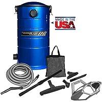 VacuMaid GV50B Wall Mounted Garage and Car Vacuum with 50 ft hose and Tools