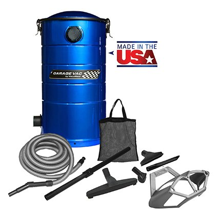 VacuMaid GV50B Wall Mounted Garage and Car Vacuum with 50 ft hose and Tools by VacuMaid (Image #7)