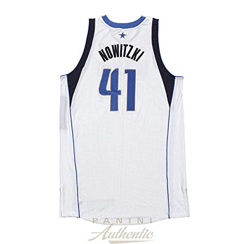 Dirk Nowitzki Game Worn Dallas Mavericks Jersey From 3/26/2013 vs the Los Angeles Clippers ~Limited Edition 1/1~ - Panini Authentic - Panini Certified