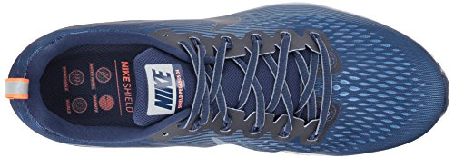 Nike Air Zoom Pegasus 34 Shield, Zapatillas de Running Para Hombre, Azul (Binary Blue/Obsidian-Armory Blue-Obsidia), 40 EU