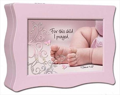 【残りわずか】 Cottage Garden 09483X Baby Music Box Baby Feet With Feet Scripture Me Jesus Loves Me Wavy Pink [並行輸入品] B01K1UJFJK, HIC:8a04a335 --- clubavenue.eu